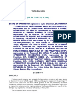 Board of Optometry v Colet