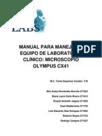 Manual Para Manejo de Equipo de Laboratorio Clínico