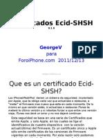 Certificados Ecid-shsh v1.6