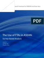The Use of FTAs in ASEAN
