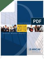 MNCAR Annual Market Report 2010