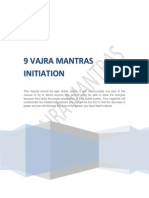 9 Vajra Mantras Initiation