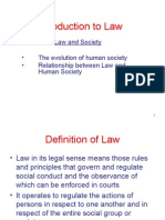 Introduction to Law Ppt