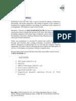 C Dot Company Profile 2015