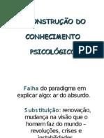 [Slides I] Objeto de Estudo Da Psicologia