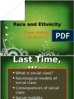 Lecture 7 Race and Ethnicity
