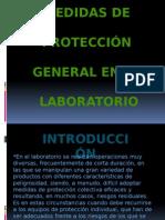 Medidas de protección general en el Laboratorio
