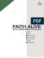 25979199 Faith Alive 2010 Resource Catalog