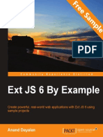 Ext JS 6 By Example - Sample Chapter