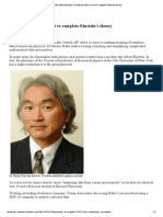 MyStarjob - Dr Michio Kaku