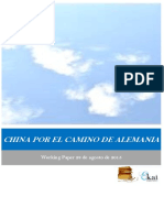 CHINA POR EL CAMINO DE ALEMANIA
