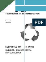 ASSIGNMENT Bioremediation