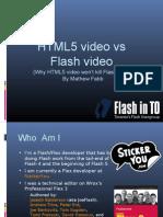 Html5 Video vs Flash Video-Fab