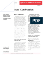 Biomass Combustion
