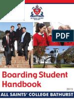 2015 Boarding Students Handbook for Web
