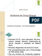 Sessão Clinica Churg Strauss