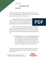 Organizational Study of KSIC Limited