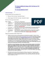 Perencanaan PLPG Kemendikbud Tahun 2015 Di Rayon 115 Universitas Negeri Malang