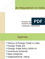 Foreign trade regulation in india