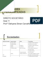 11 - Classificação das Sociedades Personificadas.ppt