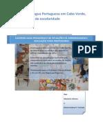1ª Parte Guia Ensino Da Língua Portuguesa Em Cabo Verde 1a Fase
