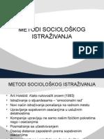 10 Metodi Socioloskog Istrazivanja