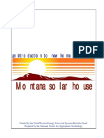 Montana Solar Houses