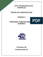 unidad 2  TALLER DE CONSTRUCCION