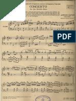 Antonio Giuseppe Capuzzi - Double Bass Concerto