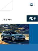 The golf 2013