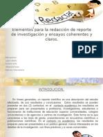 loselementosparalaredaccindereportedeinvestigacinyensayoscoherentesyclaros-110511023441-phpapp02