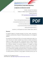 PÉREZ MONKAS, G. Deporte y Escuela s. XIX