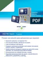 1) IND780batch Basics Overview - Spansih