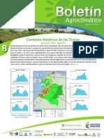 Boletín Agroclimático Agosto