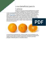 Beneficios de la naranja para la eyaculación precoz