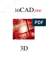 Tutorial - AutoCAD 2000 3D - (Pt-BR)
