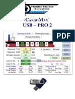 CargoMax USB Pro 2 Manual