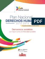 Plan Nacional de Derechos Humanos del Gobierno de Venezuela