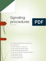 06signaling Procedures