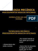 UFCD 1275 Tecnologia Mecânica - Procedimentos Básicos Oficinais v2.0