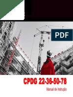 Manual de Instrucao CPDG22!36!50-78 Cramaco-Weg