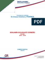 Plan de Gobierno Candidato