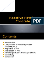 Reactive Powder Concrete