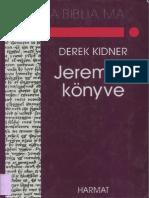 Derek Kidner - Jeremiás Könyve