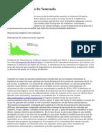 Ensayo Devaluacion En Venezuela
