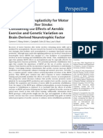 Promoting Neuroplasticity for Motor
