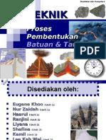 18274942 Proses Pembentukan Batuan Tanah