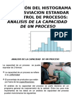 Analisis Capacidad Poceso. Presentacion