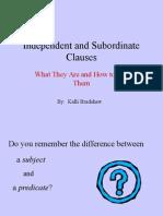indep sub clauses