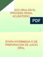 El Juicio Oral en El Proceso Penal Acusatorio II